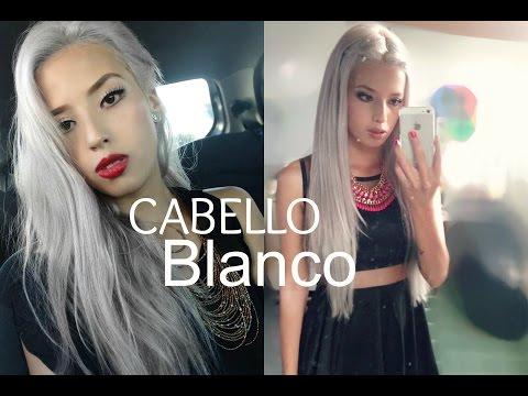 Como tener el cabello BLANCO/ Review wowafrican/VanityPlanet