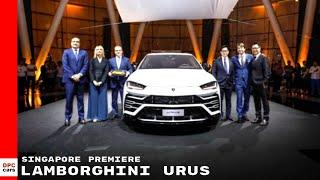 2018 Lamborghini Urus Singapore Premiere