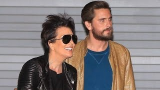 Kris Jenner And Scott Disick Looking So Happy Together, Asked About Kim's Plastic Surgery