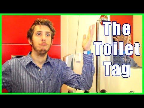 Toilet Tag Evan Edinger