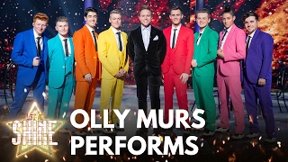 Eight of the boys perform with Olly Murs - Let It Shine - BBC One
