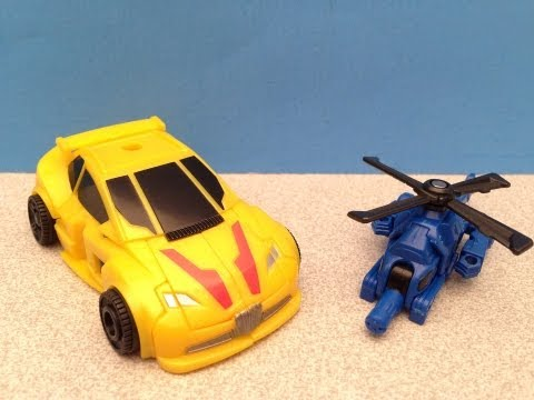 BUMBLEBEE AND BLAZEMASTER TRANSFORMERS GENERATIONS TOY REVIEW