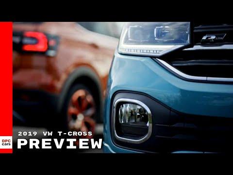2019 VW T-Cross - Volkswagen Preview