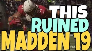 I THINK I RUINED MADDEN 19 WITH THIS PLAY! I CANT EVEN STOP MY OWN PLAY! MUT ULTIMATE TEAM GAMEPLAY