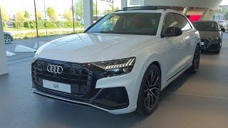 Audi Q8 50 TDi S-LINE 2019 Review in Dealership