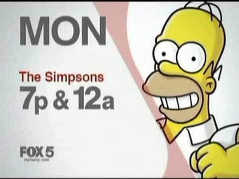 2010 Wnyw Simpsons Monday Promo