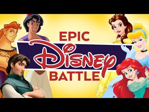 Princesses vs Princes Epic Disney Battle