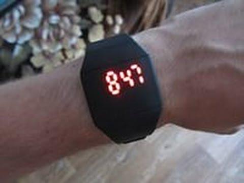 Лёха & посылка 76 - светодиодые часы 1J7K