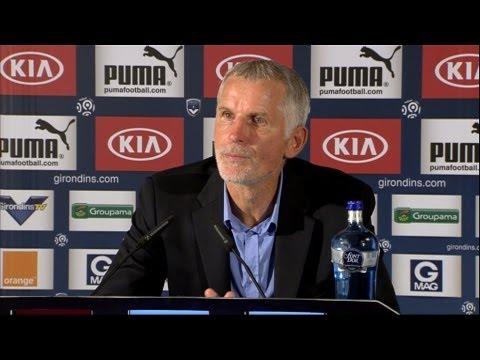 image vidéo  Conférence de presse Girondins de Bordeaux - AC Ajaccio (2-2)