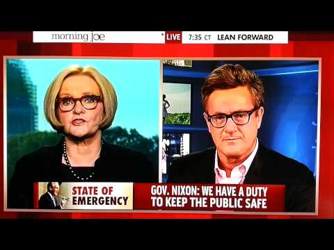 Claire McCaskill on Officer Wilson