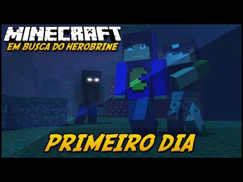 Minecraft: EM BUSCA DO HEROBRINE - PRIMEIRO DIA! #1