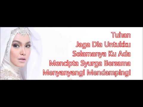 Dato Siti Nurhaliza - Jaga Dia Untukku (karaoke) video