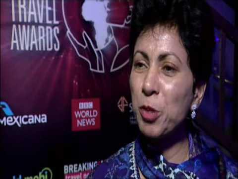 Kumari Selja, Minister for Tourism, India - Incredible India @ WTA Grand Final 2009