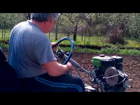 Саморъчно направен трактор-мотофреза