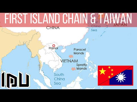 SouthChinaSea - First Island Chain and Taiwan