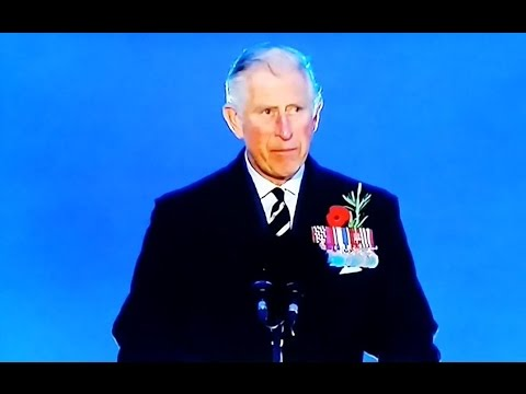 ANZAC day 2015 Prince Charles address at Gallipoli Dawn Service