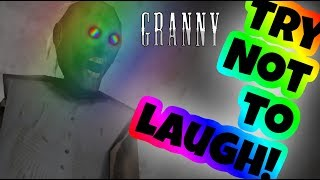 YOU LAUGH YOU LOSE! | Granny Funny Moments 6#