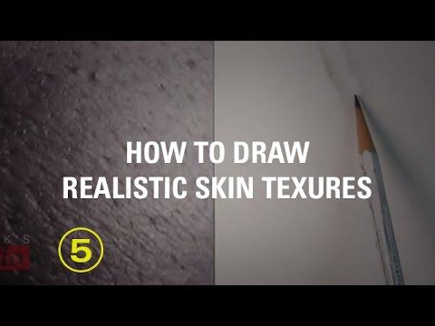 DRAWING SKIN TEXTURES ( Art Studio Lesson 24 excerpt)