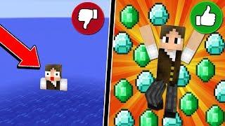 Minecraft Infinito #1: O PIOR E O MELHOR INÍCIO DE SÉRIE! (COM YOUTUBERS)