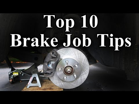 How to Replace Brake Pads and Rotors Top 10 Brake Job Tips