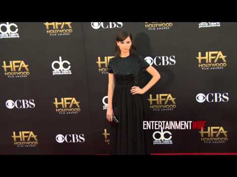 Felicity Jones arrives at 18th Annual Hollywood Film Awards Redcarpet