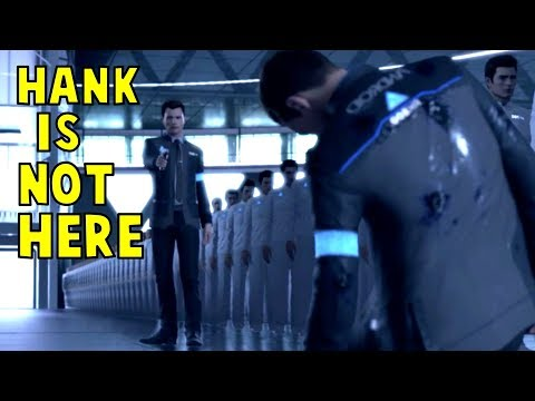 What if Hank Doesn't Show up at Cyberlife - Every Single Choice - Detroit Become Human