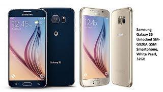 Samsung Galaxy S6 Unlocked SM-G920A GSM Smartphone| Tech Market Support