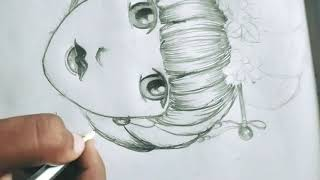 Anime Face ??|| Art & Craft || Sketch?