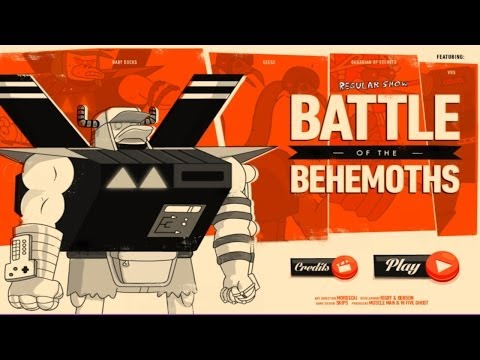 Cartoon Network Games: Regular Show - Battle Of The Behemoths [gameplay walkthrough playthrough] video