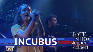 Incubus Performs 'Drive' LIVE On The Late Show