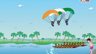 Sare Jahan Se Acha | Hindi DeshBhakthi Geet | Patriotic Songs by JingleToons