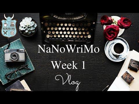 Weekly Writing and Author Life Vlog - January 2018, Week 1
