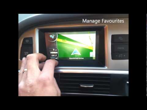 Audi A6 Mmi Gps Upgrade With Touch Screen Youtube