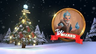 Clash of Clans: Ice Wizard (Clashmas Update 2017)