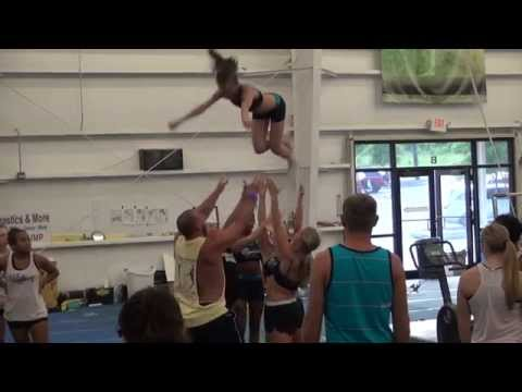 Cheer Extreme Beach Camp 2013 Senior Elite Kernersville & SSX Raleigh