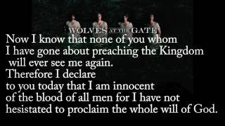 Watch Wolves At The Gate We Are The Ones video