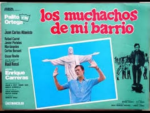los muchachos de mi barrio ( Palito Ortega ) pelicula  1969 .