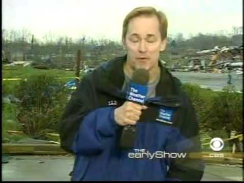 Mike Seidel The CBS Early Show  Gallatin, TN F4 Tornado Aftermath  4-8-2006