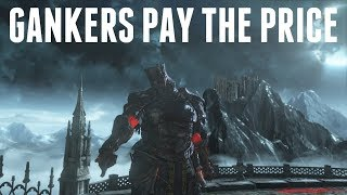 Dark Souls 3 - Ringed Knight Paired GS Gankers Meet Gundyr Gael and Pay The Price!