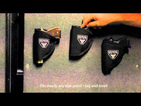 EZ Pistol Holder - Use in Your Safe