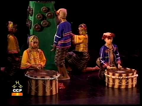 Ethnic Tribal Music-dance Of The Philippines -  Bagobo And Ifugao Tribal Music-dances - Namcya 2009 video