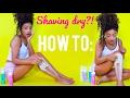 Shaving DRY!? HOW TO | jasmeannnn