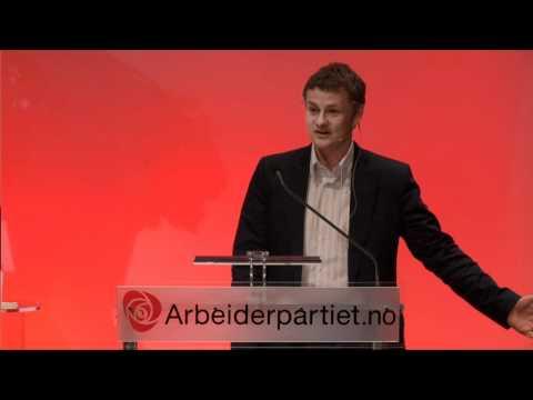 Ole Gunnar Solskjær inspirerer landsmøtet