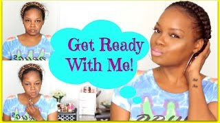 SUMMER GRWM| FROM BASIC TO BEAUTY| GODDESS BRAID DEMO