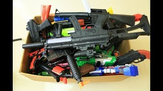 Box of Toys ! GUNS BOX Toys Military & Police equipment | Gun toy (25)