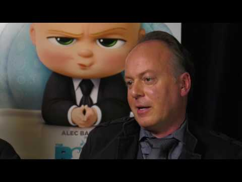 Tom McGrath & Ramsey Ann Naito Talk The Boss Baby