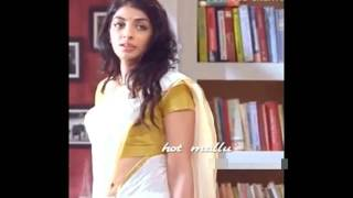 malayalam ACTRESS MYTHILI RARE HOT NAVEL SCENS IN SAREE LOOK VIDEO