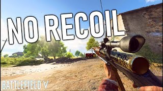 THIS GUN HAS NO RECOIL! | Battlefield 5 No Recoil Weapon Ribbey rolles gameplay