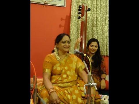 Smt Amrutha Deshpande: Marathi Natyasangeet - Dhavat Yei Sakhya...