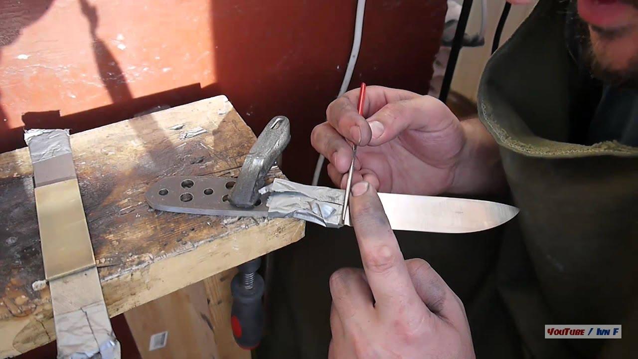 Технология изготовления ножа своими руками 29